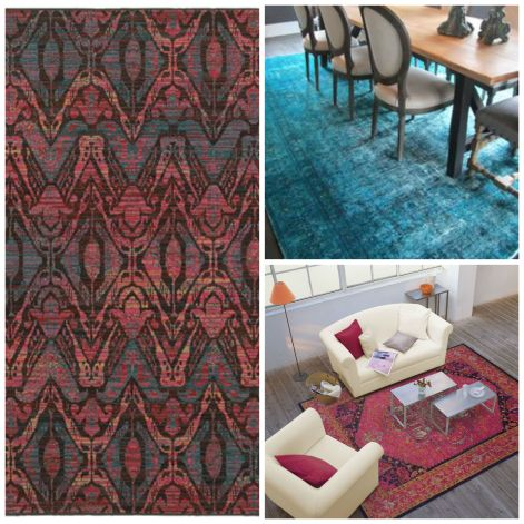 Persian Rug Collage