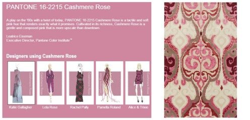Cashmere Rose Collage