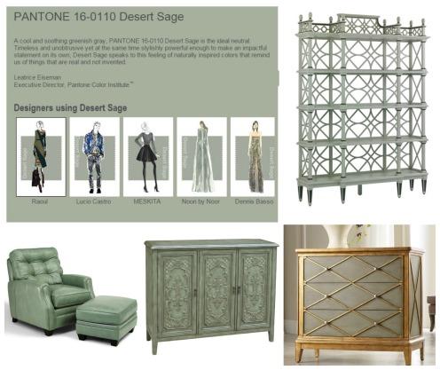 Desert Sage Collage