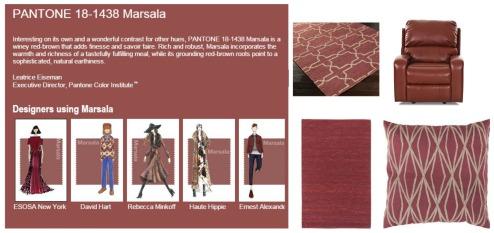 Marsala Collage