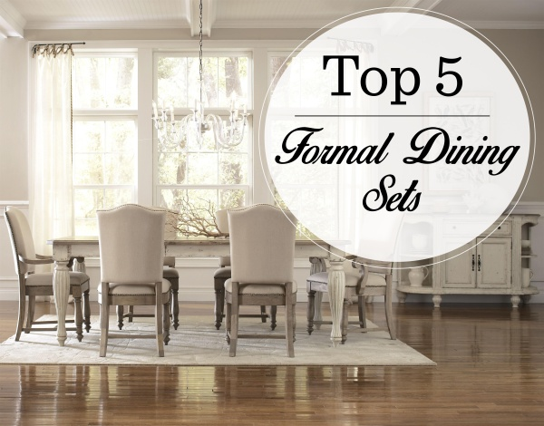 Top 5 formal dining sets