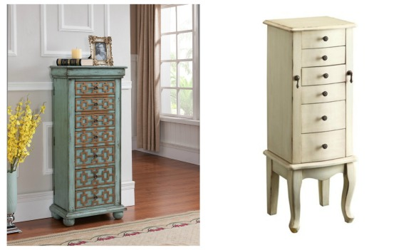 Jewelry Armoire Colalge