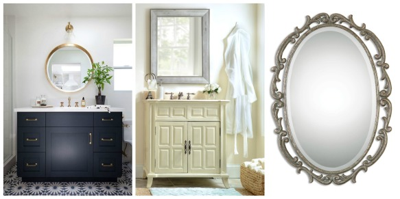 Statement Mirrors - Bathroom