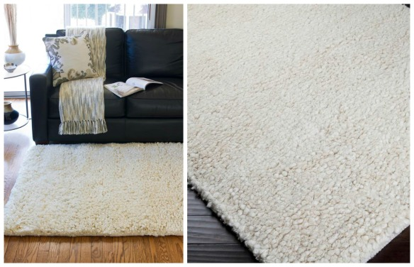 Wool Rug Collage