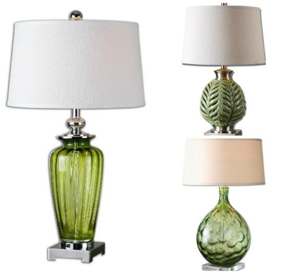 greenery-lamps