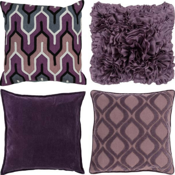 Decorative Pillows - Purple Sheelys Furniture
