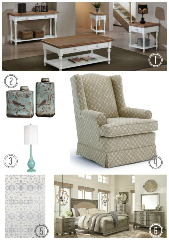 Cottage Style Collage